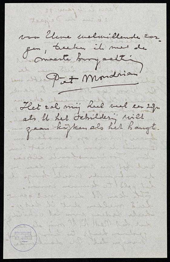 Penseelstreek en Handschrift